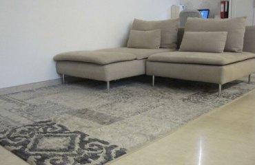 עיצוב משרד עם שטיח
